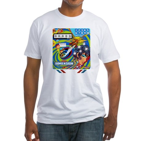 """Gottlieb® """"Dimension"""" Fitted T-Shirt"""