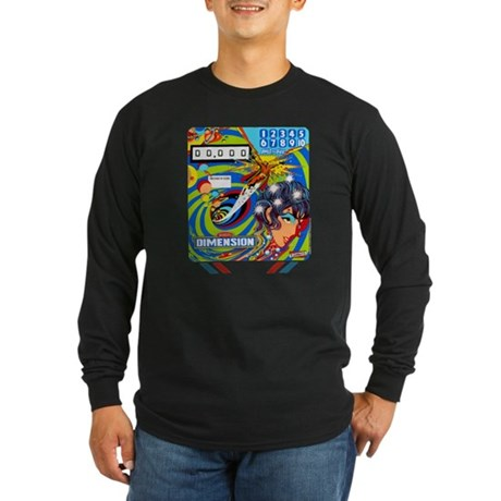 "Gottlieb® ""Dimension"" Long Sleeve Dark T-Shirt"