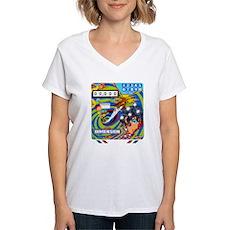 """Gottlieb® """"Dimension"""" Women's V-Neck T-Shirt"""