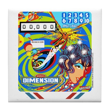"Gottlieb® ""Dimension"" Tile Coaster"