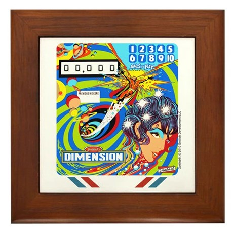 "Gottlieb® ""Dimension"" Framed Tile"