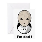 I'm dad ! Greeting Cards (Pk of 20)
