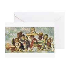 Vintage Christmas 1964 Greeting Card