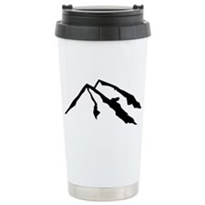 Mountains Ceramic Travel Mug