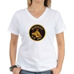 Sheriff K9 Unit Women's V-Neck T-Shirt