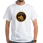 Sheriff K9 Unit White T-Shirt