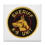 Sheriff K9 Unit Tile Coaster