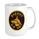 Sheriff K9 Unit Large Mug