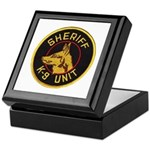 Sheriff K9 Unit Keepsake Box
