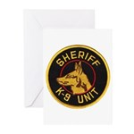 Sheriff K9 Unit Greeting Cards (Pk of 20)