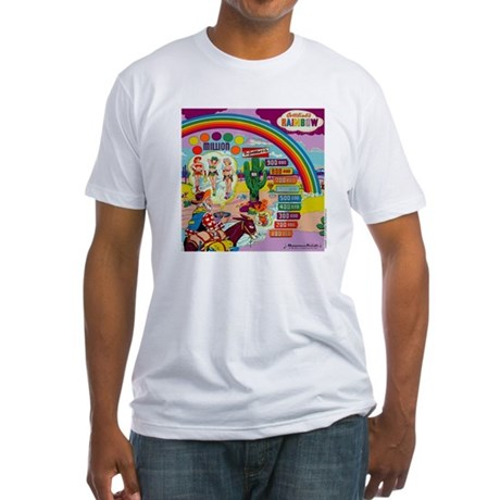 "Gottlieb® ""Rainbow"" Fitted T-Shirt"