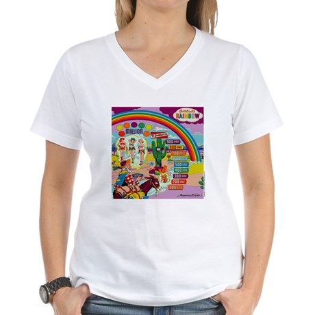 "Gottlieb® ""Rainbow"" Women's V-Neck T-Shirt"