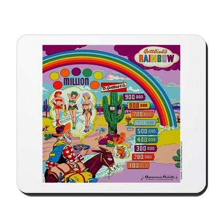 "Gottlieb® ""Rainbow"" Mousepad"