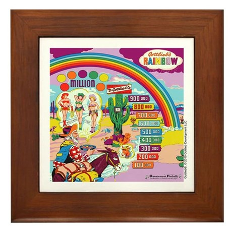 "Gottlieb® ""Rainbow"" Framed Tile"