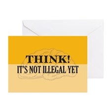 Think! Greeting Cards (Pk of 10)