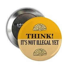 "Think! 2.25"" Button (10 pack)"