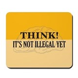 Think! Mousepad