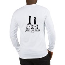 """Ladies Love the KA"" Long Sleeve T-Shirt"