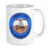 Enjoy Life Play Racquetball Mug