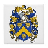 Hugh Coat of Arms Tile Coaster