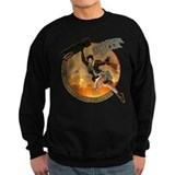 Unique Military pinup Sweatshirt