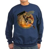 Unique Bomber nose art Sweatshirt