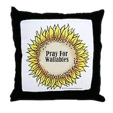 Pray For Wallabies Throw Pillow