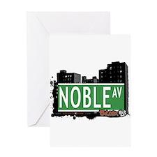 Noble Av, Bronx, NYC Greeting Card