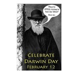 Darwin Day Postcards (Eight)