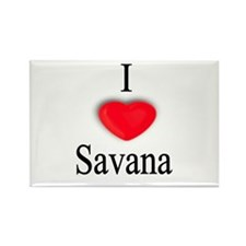 Savana Rectangle Magnet