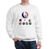 France Vs World Sweatshirt