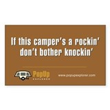 If this campers a rockin sticker