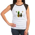 PINEAPPLE CRUSH Women's Cap Sleeve T-Shirt
