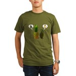 PINEAPPLE CRUSH Organic Men's T-Shirt (dark)