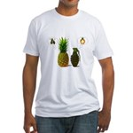 PINEAPPLE CRUSH Fitted T-Shirt