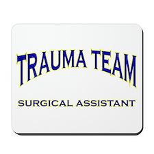 Trauma team SA - blue Mousepad