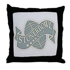 Stoner Bowl 48 #1 Throw Pillow