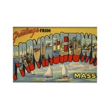Provincetown Rectangle Magnet