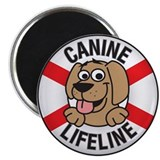 Canine Lifeline 2.25&amp;quot; Magnet (100 pack)