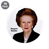 "Lady Thatcher 3.5"" Button (10 pack)"