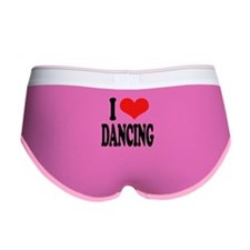 I Love Dancing Women's Boy Brief