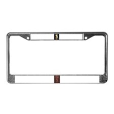 Cute Rosary License Plate Frame