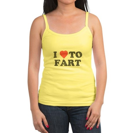 I Love To Fart Jr Spaghetti Tank