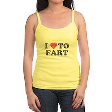 I Love To Fart Jr Spaghetti Tank
