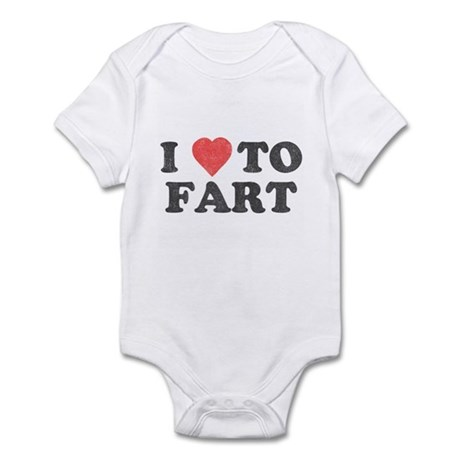 I Love To Fart Infant Bodysuit