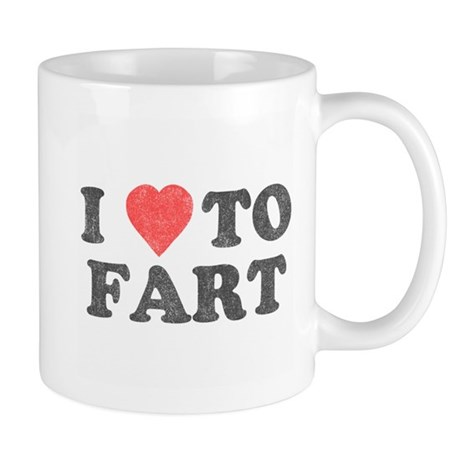 I Love To Fart Mug