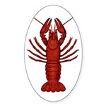 Crawfish Sticker (Oval 10 pk)