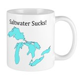 Saltwater Sucks! Small Mug