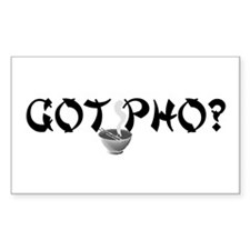 Got Pho? Rectangle Decal