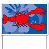 Lobster Yard Sign